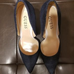 Guess Lottie Denim Pumps